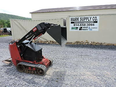 2008 Toro Dingo TX525 Wide Track Mini Skid Steer Loader Dozer Kubota Bobcat !!!!