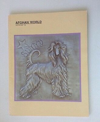 Vintage AFGHAN WORLD Magazine, 1987, Entire Year, 6 Volumes