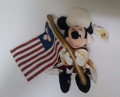 Walt Disney World Minnie Mouse 4th of July 2001 Independence Day New w Tag Plush