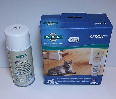 Petsafe SSSCAT Spray Deterrent Motion Activated Cat and Dog Repellent Training