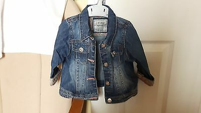 Baby Girls Denim Jacket from Next 9-12 months