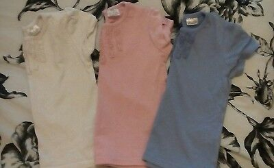 x3 baby girls tshirts excellent condition 6-9 months