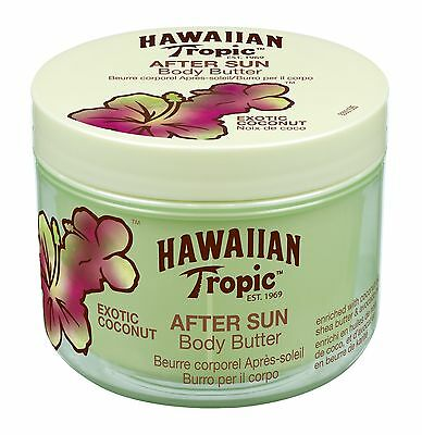 Hawaiian Tropic Aftersun Body Butter Exotic Coconut NEW
