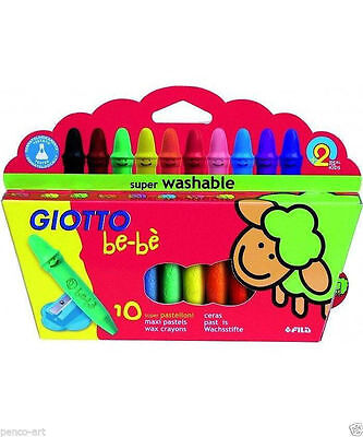 Giotto Be-Be Crayons 10