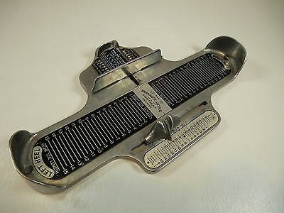 Vintage Men's Brannock Device - Foot / Shoe Size Measuring Device
