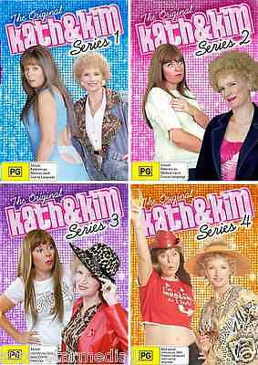 Kath and Kim Series COMPLETE  Season 1 2 3 4 (8 Disc Set) : NEW DVD