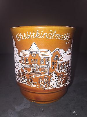 Christkindlmarkt Germany Kossinger Schierling Mug Stein Souvenir Edition