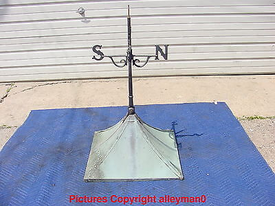 Antique Weathervane With Copper Cupola