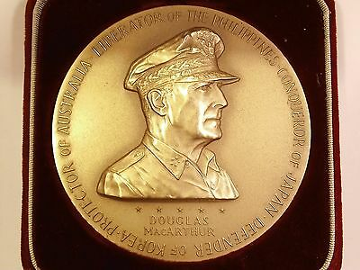 1962 General Douglas MacArthur 3'' Bronze National Commemorative US Mint Medal