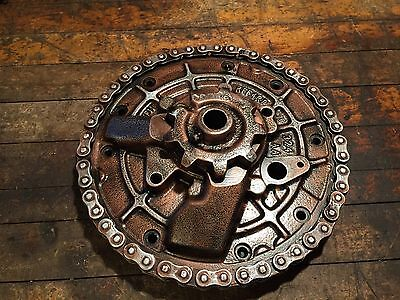 Industrial cast iron steampunk gear lamp base project