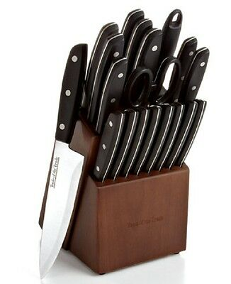 TOOLS OF THE TRADE 20-Piece Knife Set with Block