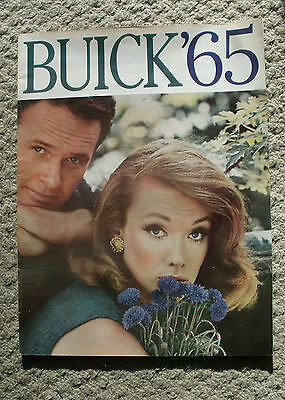 1965 Buick full-line dealer brochure in flawless condition, Huge! rare!