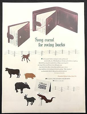 1951 Vintage Print Ad 1950s Illustration PONDS Woman's Foundation And Powdered