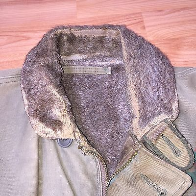 Vintage 1940's WWII N-1 Deck Jacket with Artwork -40 - ORIGINAL