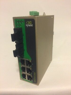 InHand Networks ISE2008D-6T-2M-SC-24 Unmanaged Industrial Ethernet Switch 6port