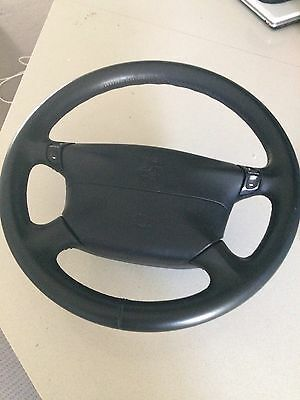 Porsche 911 Carrera C2 996 4spoke Steering Wheel And Air Bag Assembly