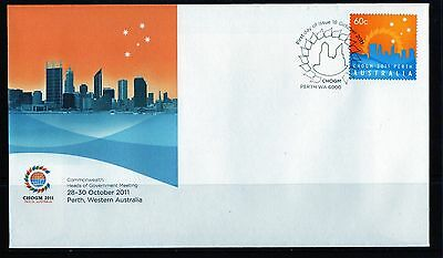 2011 Australia CHOGM 2011 60c Stamp First Day Cover, Mint Condition