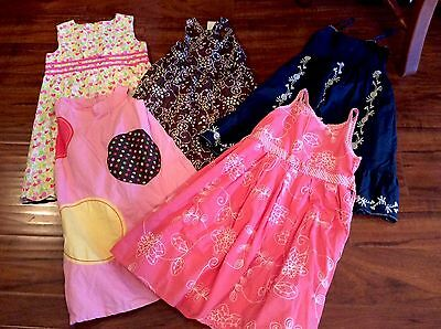 Girls Dress Lot, Size 8, Gymboree NWT And More! 5 Dresses!