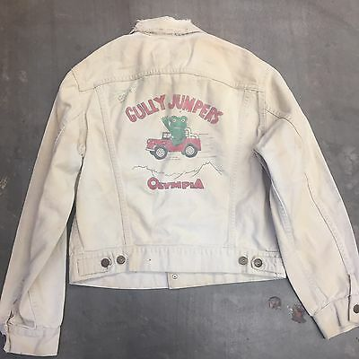 "Vintage 1960'S ""GULLY JUMPERS"" LEVI'S 840B XX CAR CLUB DENIM JACKET - ORIGINAL"