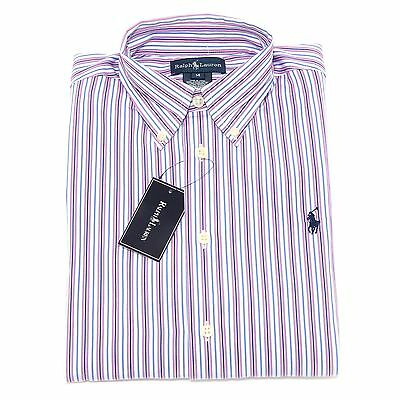 7294S camicia righe bimbo RALPH LAUREN   manica lunga stripes shirt kid