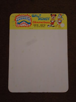 Walt Disney Characters Magnet Magnetic Stickers 1979 Display Board #964