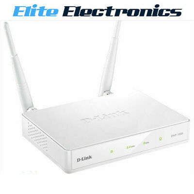 D-Link Dap-1665 Wireless Ac1200 Dual Band Access Point Lan Range Extender Dlink