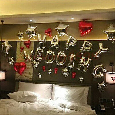 """Gold 16""""/40"""" Number Letter Foil Balloons for Birthday Wedding Party Anniver"""