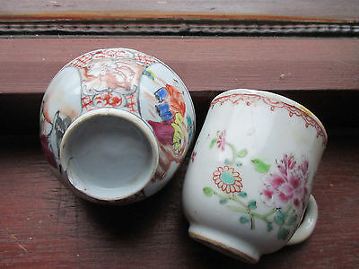2 early oriental pottery  items to restore