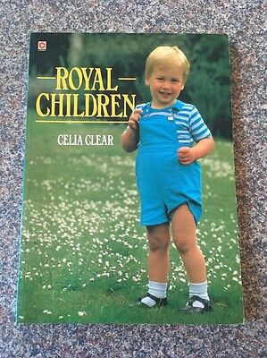 Royal Children by Celia Clear Book