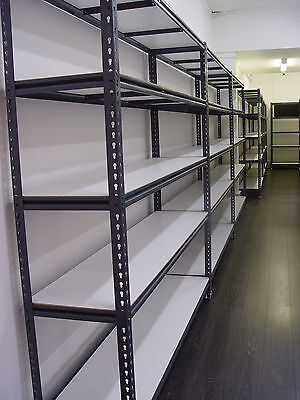 Steel Warehouse Racking Rack Storage Garage Shelving Shelf Shelves 2450mmL x 213