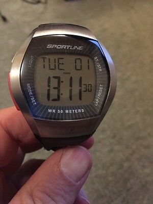 Sportline Duo 1010 Heart Rate Monitor Watch And Strap