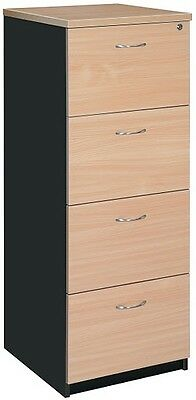Filing Cabinet 4 drawer office file storage unit filing system office furniture