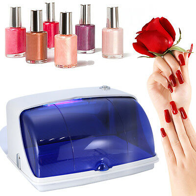 Mini UV Sterilizer Cabinet Box Heater Sterilization Salon Nail Beauty Tool OB