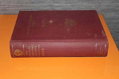 (161Ad) National Geographic Society Lot of 19 Maps