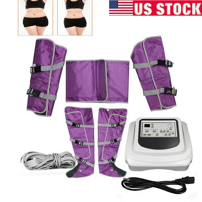 USA! Air Pressure fat burnning Lymph Drainage Toxin Weight Loss Therapy Sliming