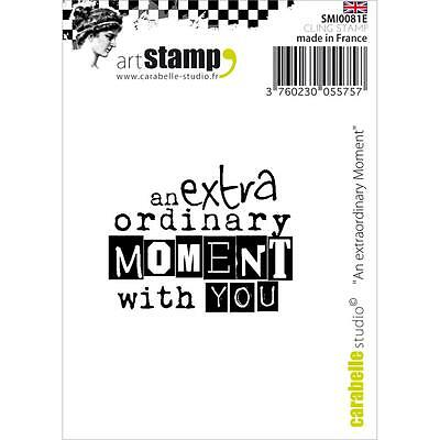 """Carabelle Studio Cling Stamp 2.75""""x 3.75"""" - An Extraordinary Moment"""