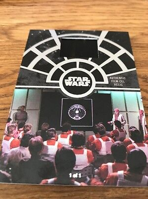 Star Wars 40th Anniversary Film Cell FCC-41 Mission Briefing 1/1
