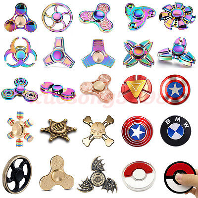 3D Fidget Toy Hand Spinner Finger EDC Focus Stress Reliever Toys Forz Kids Adult