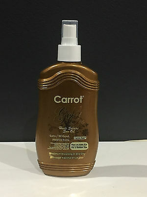 Carrot Oil Tanning Lotion - Gold