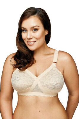 Playtex Cross Your Heart Wirefree Bra | Beige | Size 12 - 24 | Y1001H