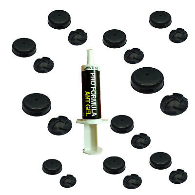 ANT KILLER PROFESSIONAL GEL (Easy To Use Tube Re-Useable) plus 10 TRAPS