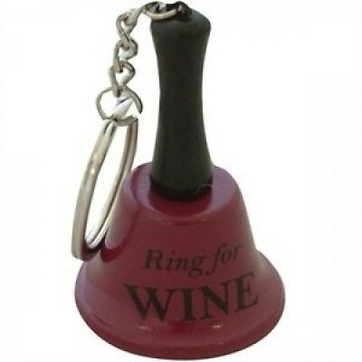 Ring for Wine Keychain Bell. Delivery is Free