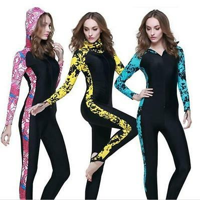 Women Stinger Skin Full Body Suit Surfing Swimming Sun Protection Swimwear