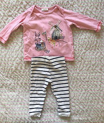 next baby girl outfit 3-6