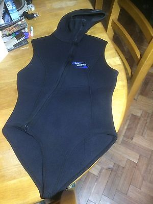 Scuba Diving Seemann Sub Wetsuit Jacket with Hood Size 42