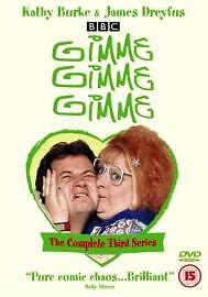 Gimme, Gimme, Gimme 3rd Series Dvd Kathy Burke Brand New & Factory Sealed