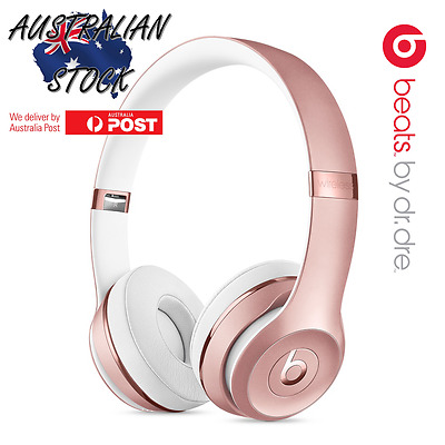 Beats By Dre Solo3 Wireless Headphones In Box - Rose Gold
