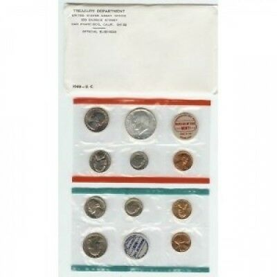 1968 COMPLETE UNITED STATES US MINT COIN SET. Twin City Gold. Free Delivery