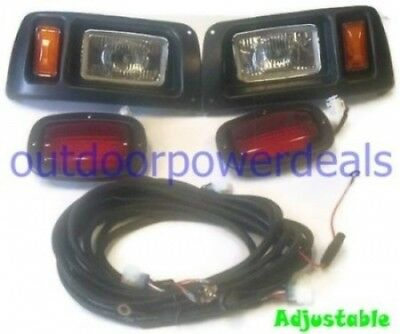 Club Car DS Golf Cart Headlight and LED Tail Light Kit - 1993 & Up. Shipping Inc