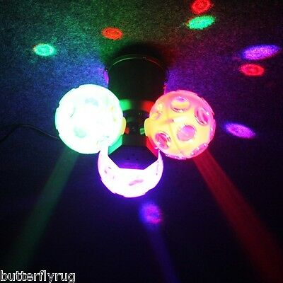 Acme Mace Tri Ball LED Classic Disco Effect Light Ideal for venues,DJ